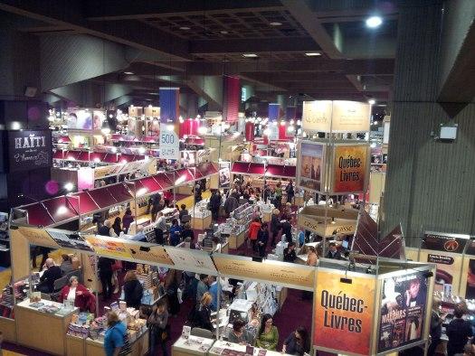 The Salon du Livre de Montréal Édition 2013