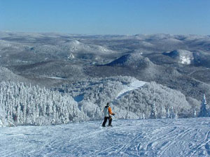 View from Mont Tremblant. A much better picture than the ones on my camera. Source: www.tripadvisor.ca